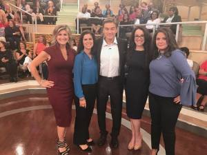 Dr. Oz show panel. What a great experience.